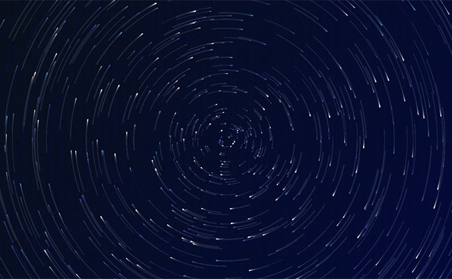 HTML5 vortex starry sky rotation background Effects
