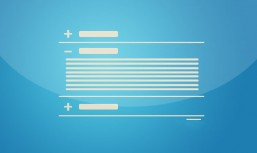 jQuery simple lines vertical accordion