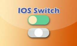 jQuery Apple system IOS style sliding button