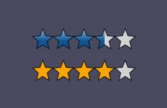 JQuery-based star rating plugin based on SVG