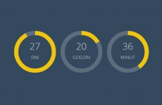 jQuery personality circle countdown