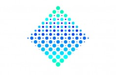 Pure CSS3 geometric dot animation