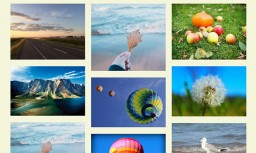 CSS3 web page scrolling picture element animation