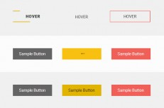css3 transition button animation