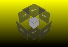CSS3 3D cube polygon animation