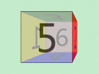 Pure CSS3 realizes 3D cube rotation animation