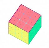 3D Rubik's cube flip animation with pure CSS3
