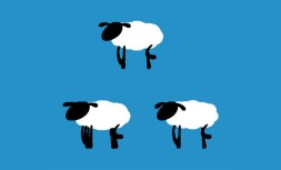 JS+PNG sheep running animation