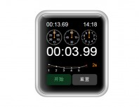 JS+CSS3 implements Apple iwatch timer
