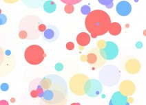 CSS3 dot bubble background animation