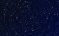 HTML5 vortex starry sky rotation background