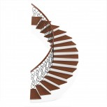3D model design of spiral staircase