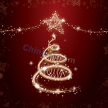 Bright creative christmas background vector illustration 4
